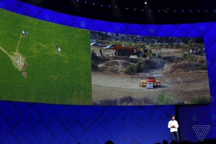 Фейсбук делает дрон для раздачи Wi-Fi взонах катастроф
